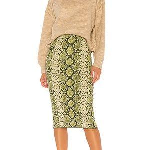 J.O.A Midi Skirt